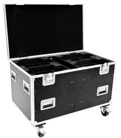 Flightcase til 4 x Futurelight DMH-90/150/ DMB-60/150/160 PLB230