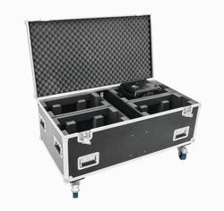 Flightcase til 4 x Futurelight Wave LED