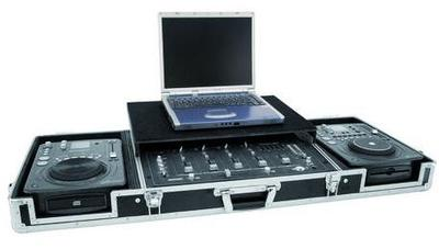 "Dj Pult 2 x CD + 19"" + laptop"