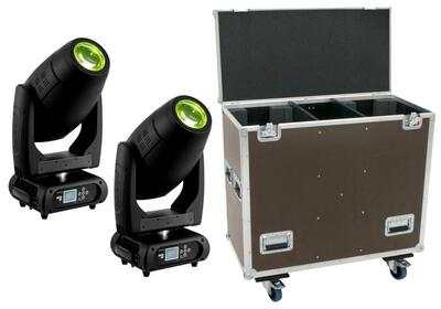2 x Futurelight DMH-300 med Case
